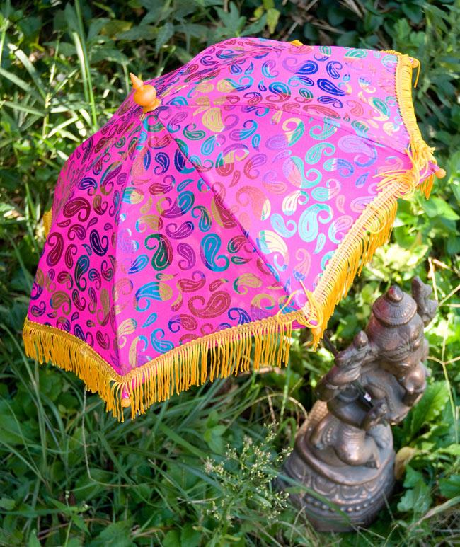 デコレーション用傘 - マルチカラー・紫の写真