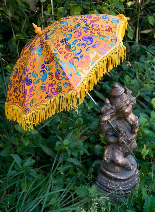 デコレーション用傘 - マルチカラー・黄色の写真
