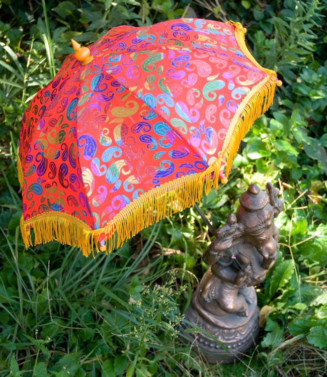 デコレーション用傘 - マルチカラー・赤の写真