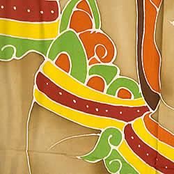 バティック神様布(ガネーシャ)の写真 -