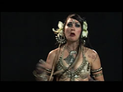 Tribal Drum Solo Choreography with Zoe Jakes and Issam Houshan 2 -