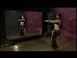 Tribal Drum Solo Choreography with Zoe Jakes and Issam Houshan 3 -