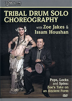 Tribal Drum Solo Choreography with Zoe Jakes and Issam Houshanの写真1