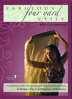 Fabulous Four Yard Veils with Shoshanna(DVD-BELLY-148)