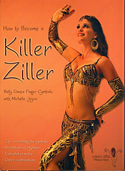 How to Became a Killer Ziller: Belly Dance Finger Cymbals(DVD-BELLY-150)