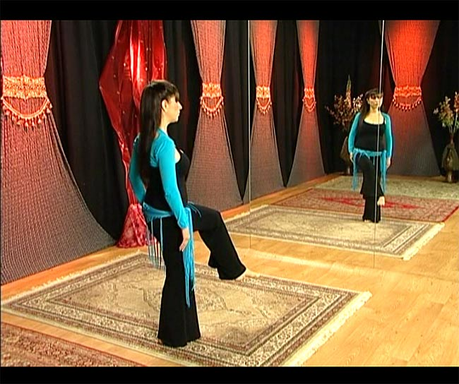Raks Al Asaya with Virginia - Bellydance Cane Technique 3 -