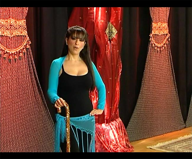 Raks Al Asaya with Virginia - Bellydance Cane Technique 4 -