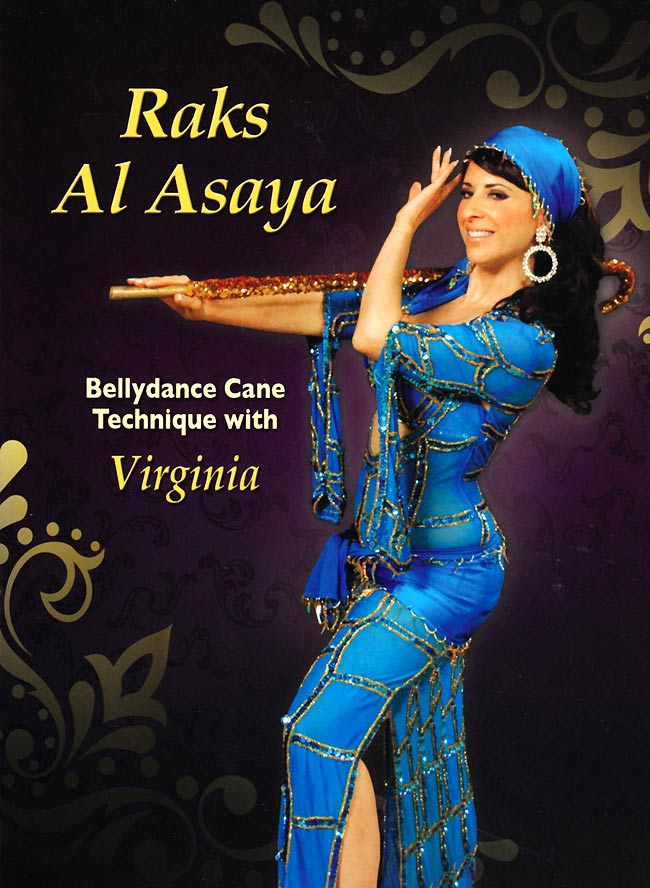 Raks Al Asaya with Virginia - Bellydance Cane Techniqueの写真