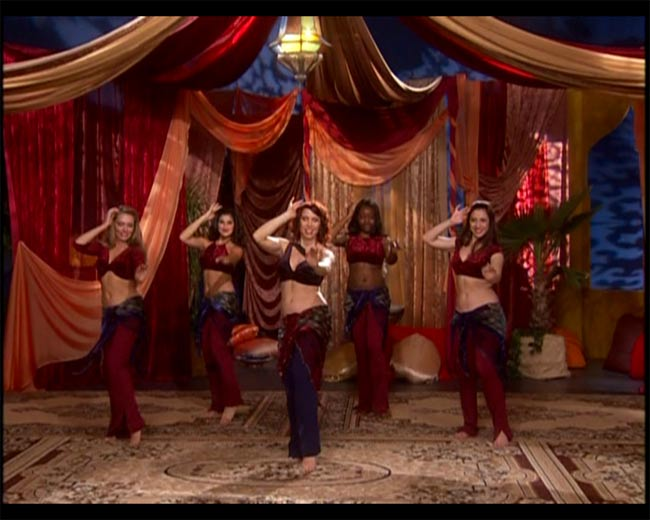 BELLYDANCE with…Jilina  SHAPE UP N HIP OUT! 3 -