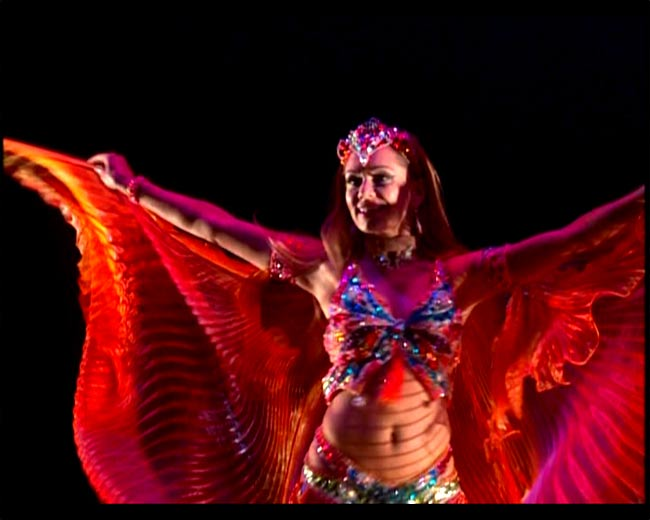BELLYDANCE with…Jilina  SHAPE UP N HIP OUT! 4 -