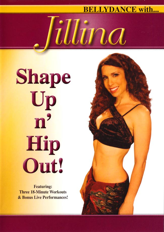 BELLYDANCE with…Jilina  SHAPE UP N HIP OUT!の写真
