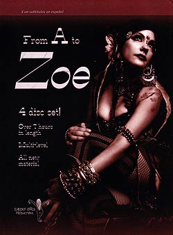FROM A to ZOE[DVD4枚組]の写真