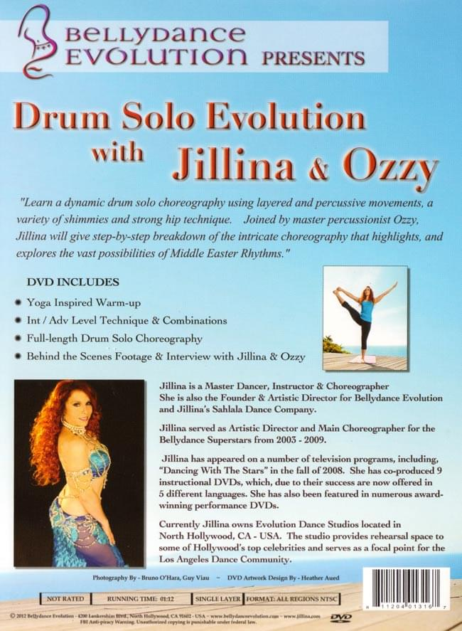 Drum Solo Evolution with Jillna & Ozzy 2 -