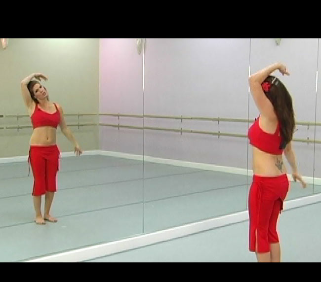 BELLY DANCE CHOREOGRAPHY - THE Triple Threat Set[DVD] の写真4 - 映像はこんな感じです