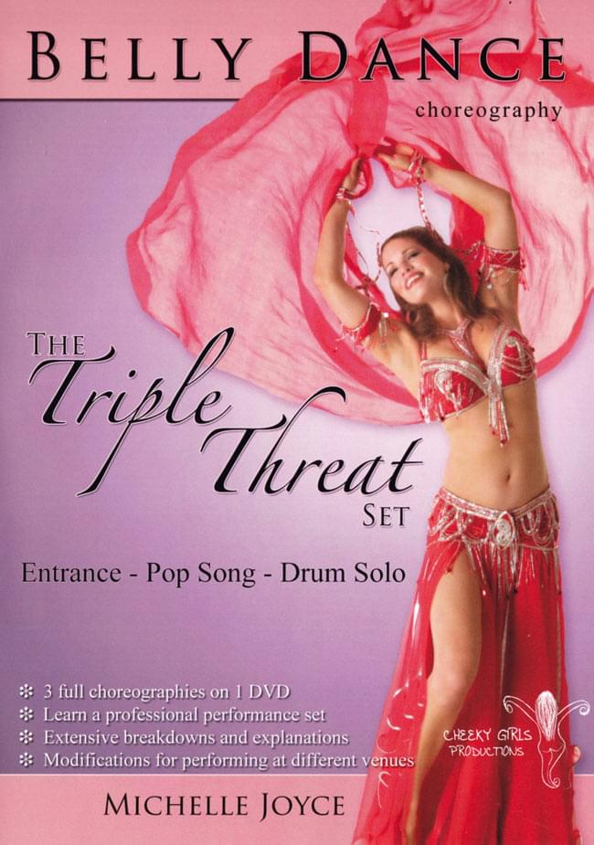 BELLY DANCE CHOREOGRAPHY - THE Triple Threat Set[DVD]  1