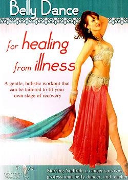[DVD]Belly Dance for Healing from Illness - Nadirah(DVD-BELLY-276)