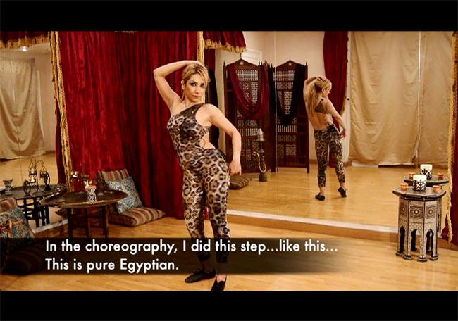 [DVD]Masters of Egyptian Choreography Vol.4 - Soraia 4 - DVDの内容はこんな感じです