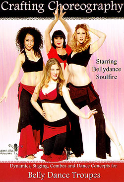 [DVD]Crafting Choreography - Starring Bellydance Soulfire(DVD-BELLY-286)