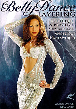 [DVD]Belly Dance Layering Technique and Practice - Angelique Hanesworth(DVD-BELLY-292)