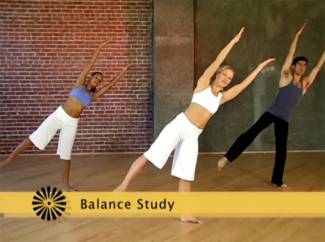 Mix and Match Fitness Fusion(Modern Dance,Belly Dance,Ballet,Pilates,Yoga) 3 - DVDの内容はこんな感じです