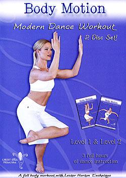 【2枚組】Body Motion Modern Dance Workout(DVD-BELLY-301)