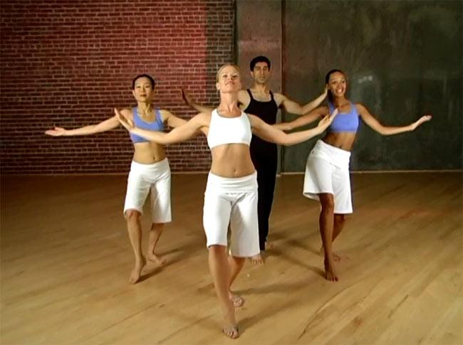 【2枚組】Body Motion Modern Dance Workout 4 - DVDの内容はこんな感じです