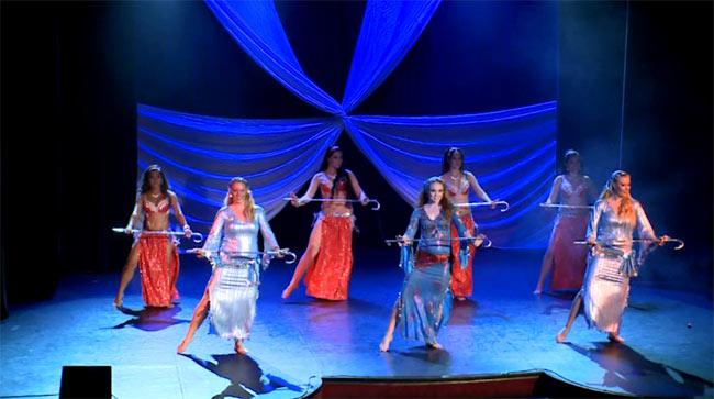 【2枚組】Cairo Nights at Beyond the Stars Palace Theater - Dr. Samy Farag 3 - DVDの内容はこんな感じです