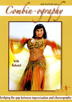 Combin Ography - Multi Level Belly Dance with Bahaia(DVD-BELLY-303)
