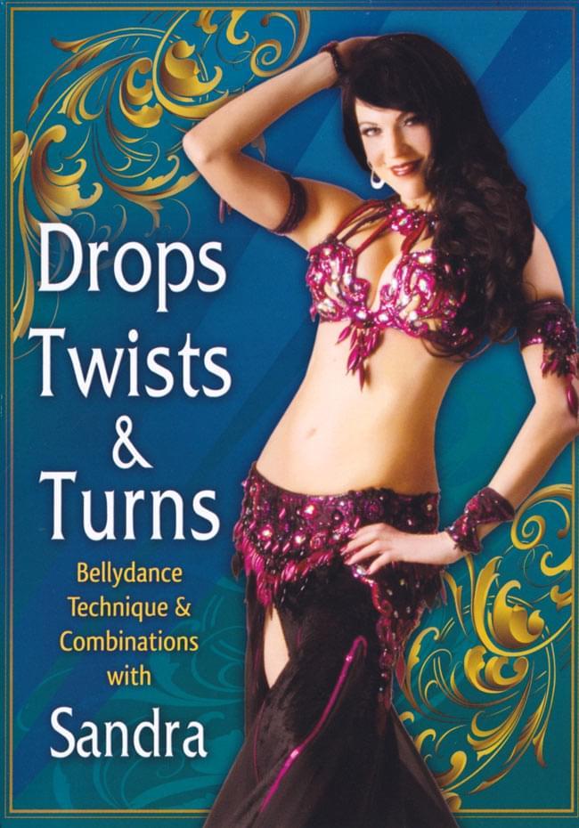 Drops Twists & Turns with Sandra[DVD]の写真