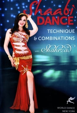 Shaabi Dance Technique & Combinations with Shahrzad[DVD](DVD-BELLY-315)
