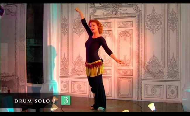 Katalin Schafer MAKE IT SENSATIONAL Advanced Belly Dance Drum Solo[DVD] 4 -
