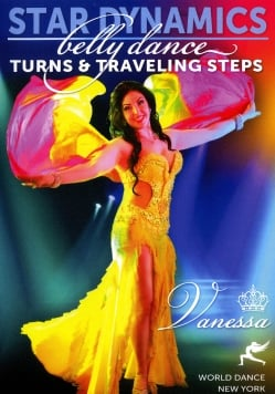 Star Dynamics - Belly Dance Turns and Traveling Steps with Vanessa[DVD](DVD-BELLY-322)