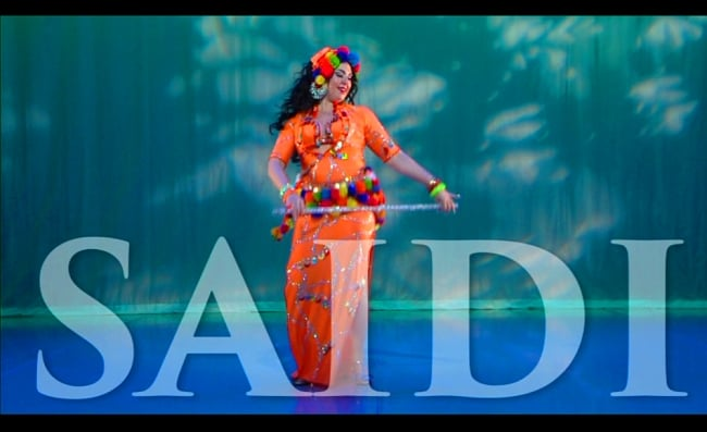 Saidi Dance Technique and Combinations with Vanessa[DVD]の写真3 -