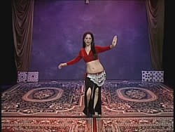 BELLYDANCE One-on-One - Complete Combinations and Choreography with Virginia 2 -