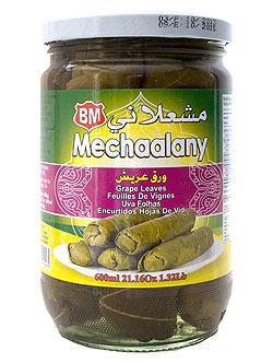 塩水漬ブドウの葉 -  Salt water Grape Leaves 【B.Mechaalany&Sons】