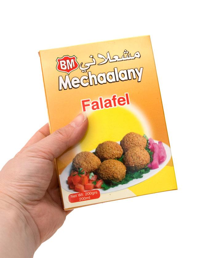 ファラフェル ミックス - Falafel Mix 【B.Mechaalany&Sons】 2 - 手に持ってみました。簡単にファラフェル作ること出来ますよ