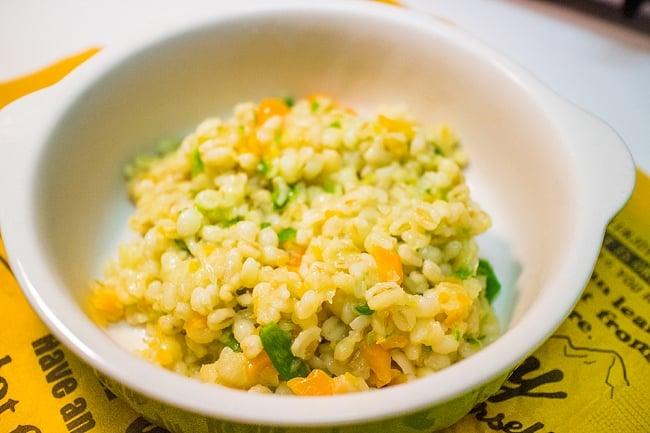 ブルグル 丸粒 【DURU】 2 - ピラフに使ってみました。触感がお米と違う感覚が新鮮で、とてもおいしいですよ!