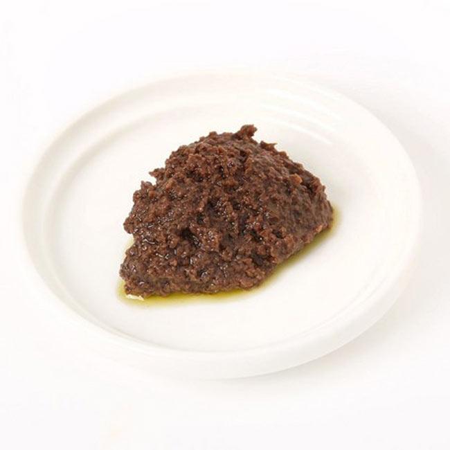 【オーガニック】ブラックオリーブ・パテペースト(パスタソース) 【alce nero】の写真2 - ブラックオリーブをペーストにしたシンプルな味わいをあ試しください。