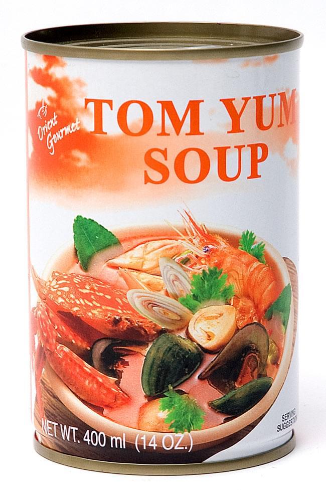 トムヤムスープ缶 【Orient Gourmet】の写真