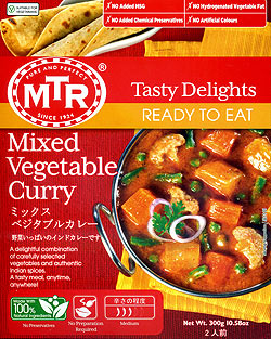 Mixed Veg. Curry - 野菜カレー[MTRカレー](FD-INSCRY-11)