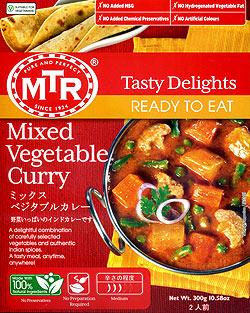 Mixed Veg. Curry - 野菜カレー 10個セット[MTRカレー]の写真