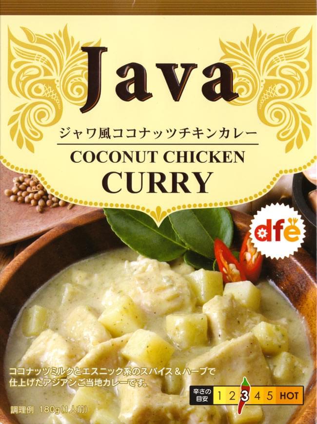 ジャワ風 ココナッツ チキン カレー 【dfe】の写真