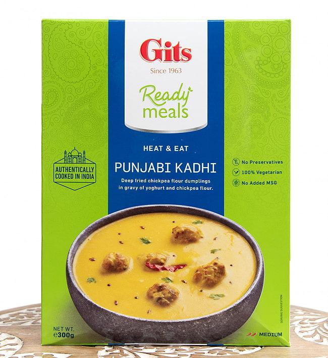 パンジャブ カディ - Punjabi Kadhi - ひよこ豆団子のヨーグルトカレー 【Gits】の写真