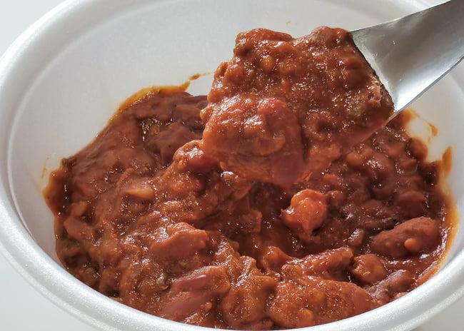 Rajma Masala - 金時豆のカレー 4 - 実際に中を開けてみました