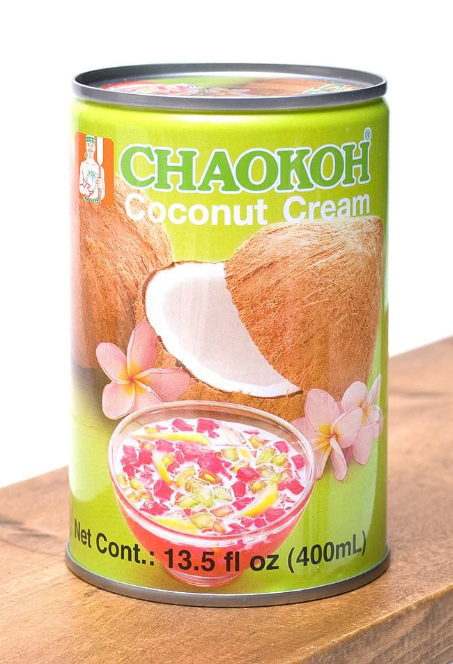 ココナッツクリーム【CHAOKOH】の写真