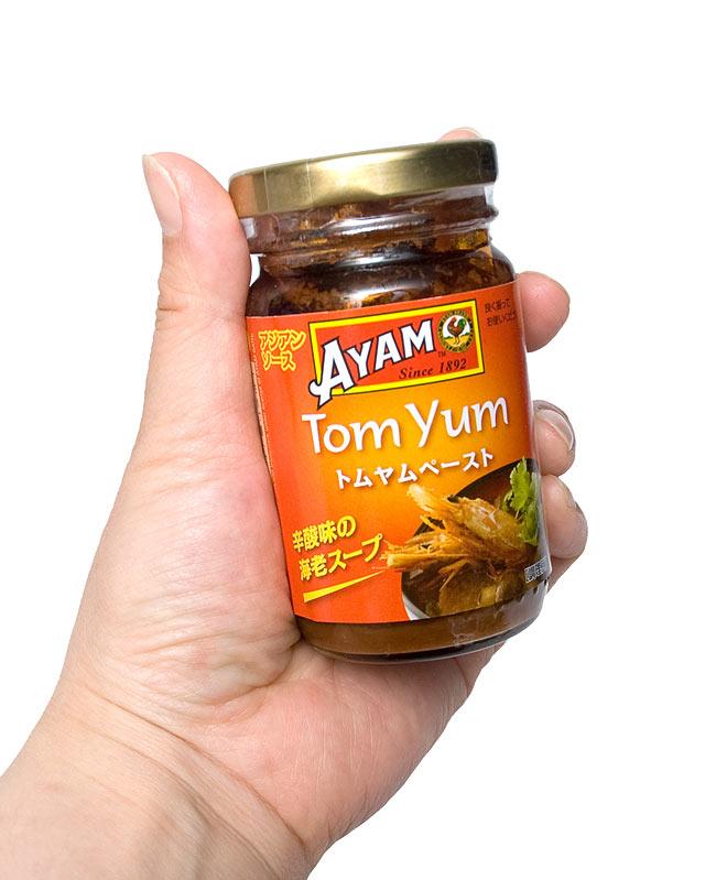 タイ トムヤム ペースト - Thai Tom Yum Paste 【AYAM】の写真4 -