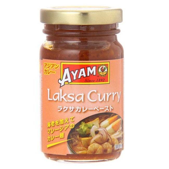 ラクサカレーペースト - Malaysia Laksa Curry paste 【AYAM】の写真