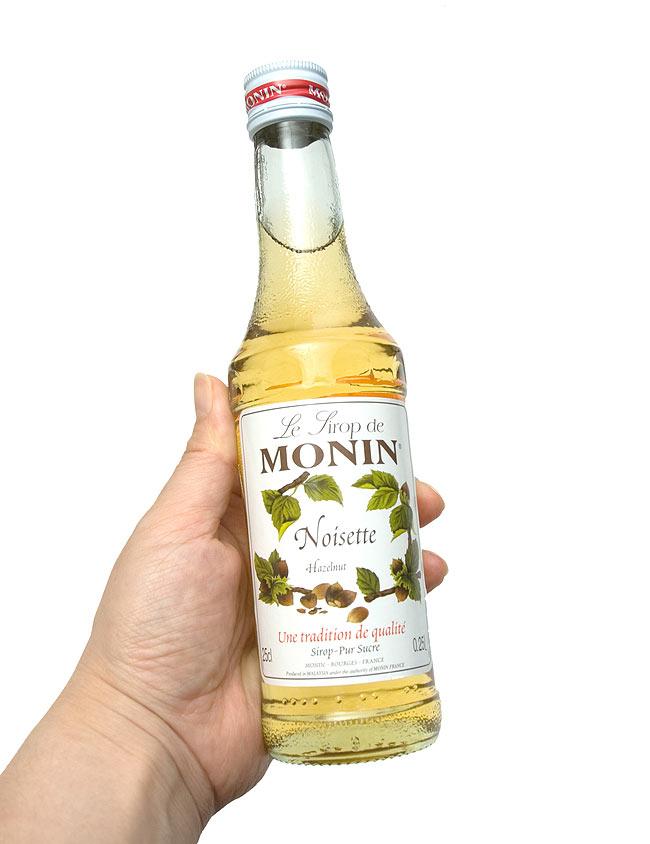 ヘーゼルナッツ シロップ - Hazelnut Syrup 【MONIN】 3 - 写真