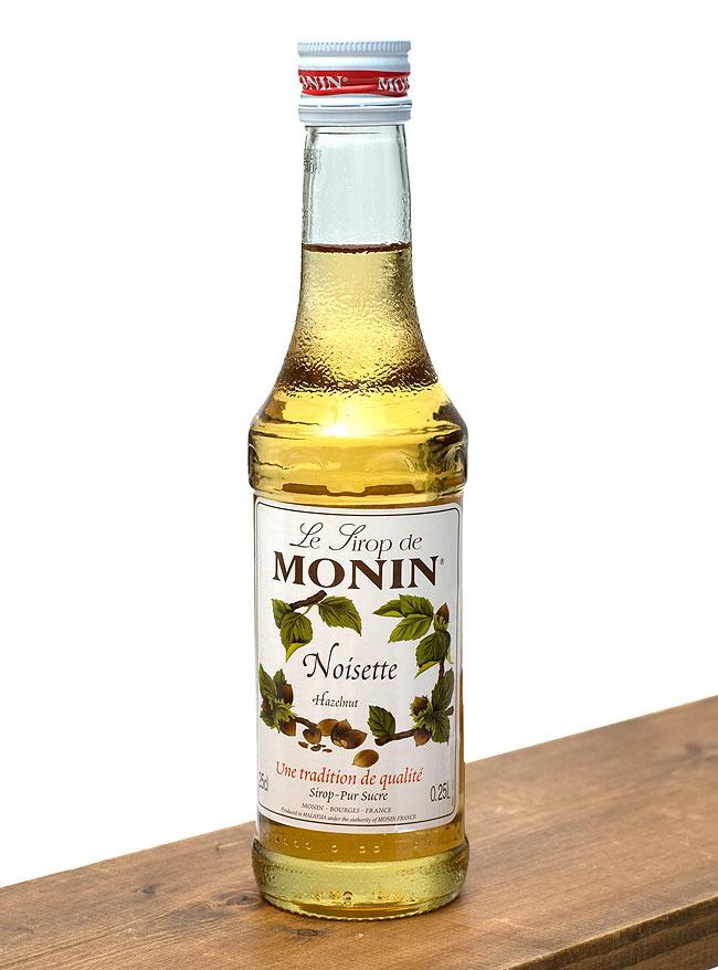 ヘーゼルナッツ シロップ - Hazelnut Syrup 【MONIN】の写真