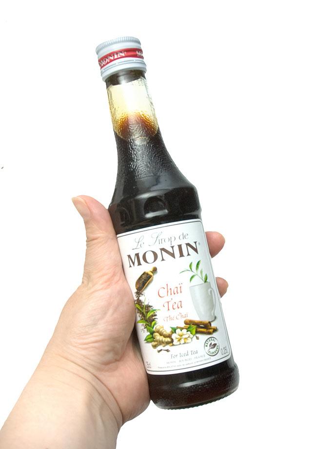 チャイティー シロップ - Chai Tea Syrup 【MONIN】 3 - 写真